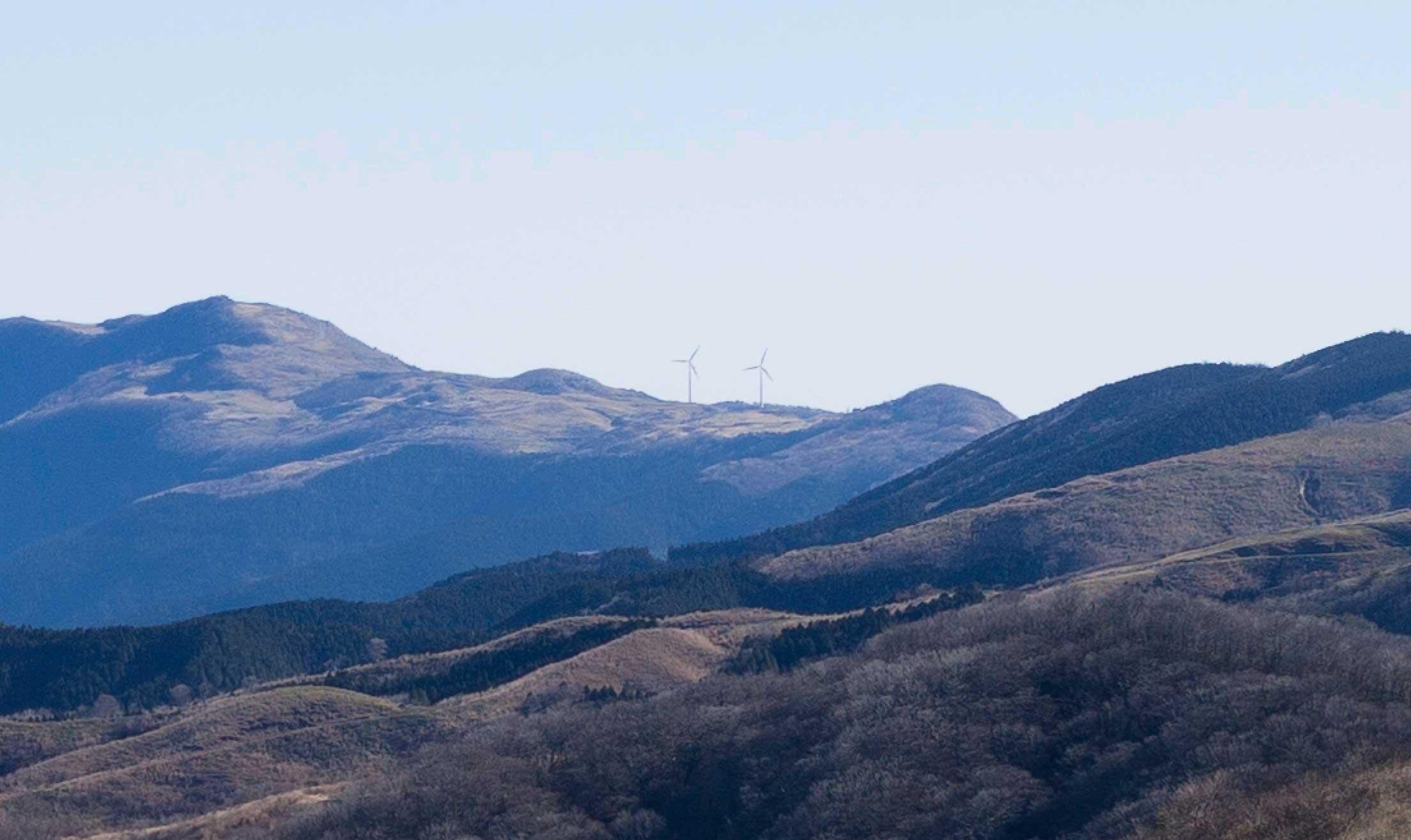 四国カルスト風車